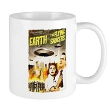 Earth vs. the Flying Saucers grunge Mug