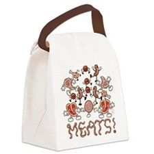 MEATS! Canvas Lunch Bag