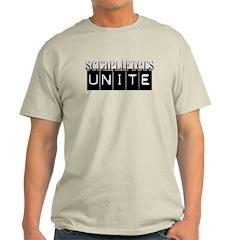 Scraplifters Unite Ash Grey T-Shirt