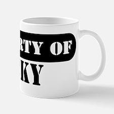 Property of Nicky Mug