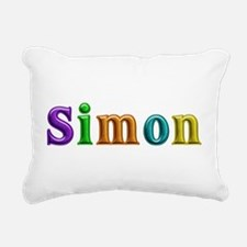 Simon Shiny Colors Rectangular Canvas Pillow