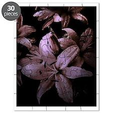 Mauve Lilies Puzzle