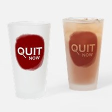 Quit Smoking Drinking Glass
