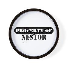 Property of Nestor Wall Clock