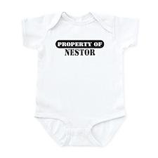 Property of Nestor Infant Bodysuit