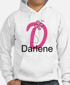 Letter D Monogram Personalized Hoodie
