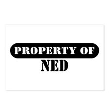 Property of Ned Postcards (Package of 8)