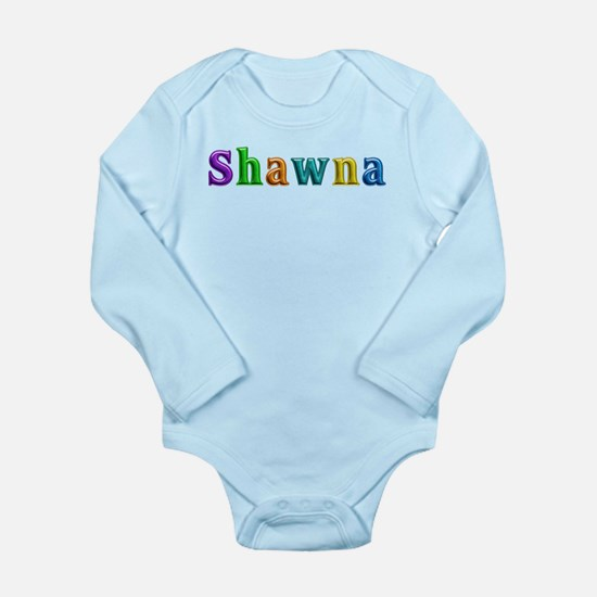 Shawna Shiny Colors Body Suit