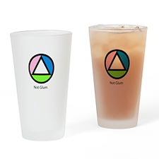 Not Glum Drinking Glass