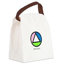 Not Glum Canvas Lunch Bag