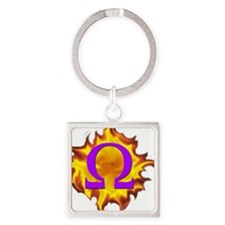 We are Omega! Square Keychain