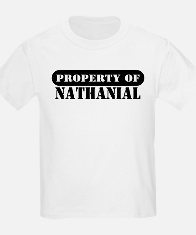 Property of Nathanial Kids T-Shirt