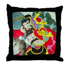 Unique Boda Throw Pillow