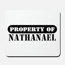 Property of Nathanael Mousepad