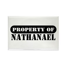 Property of Nathanael Rectangle Magnet