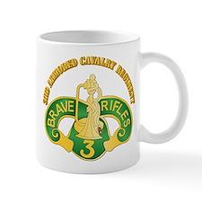 SSI - 3rd Armored Cavalry Rgt w Text Mug