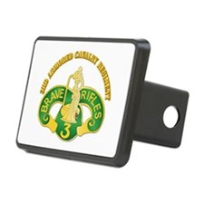 SSI - 3rd Armored Cavalry Rgt w Text Hitch Cover