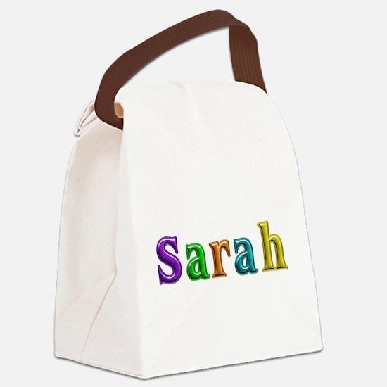 Sarah Shiny Colors Canvas Lunch Bag