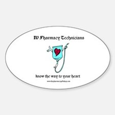 know the way PT Oval Decal