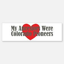 Colorado Ancestors Heart Bumper Bumper Sticker