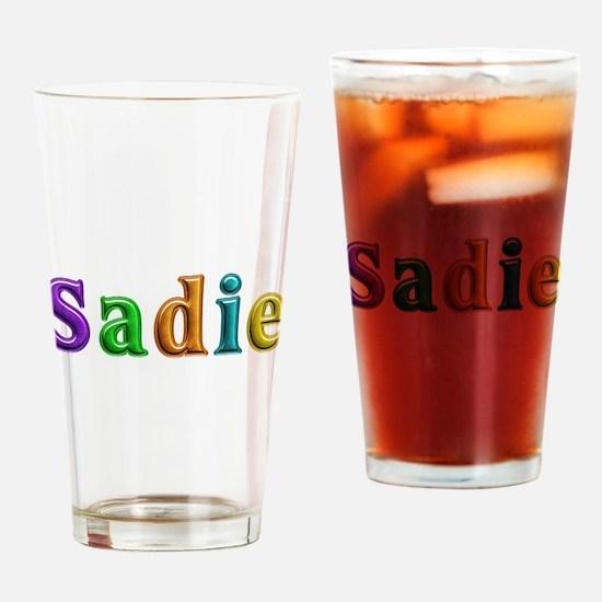 Sadie Shiny Colors Drinking Glass