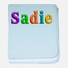 Sadie Shiny Colors baby blanket