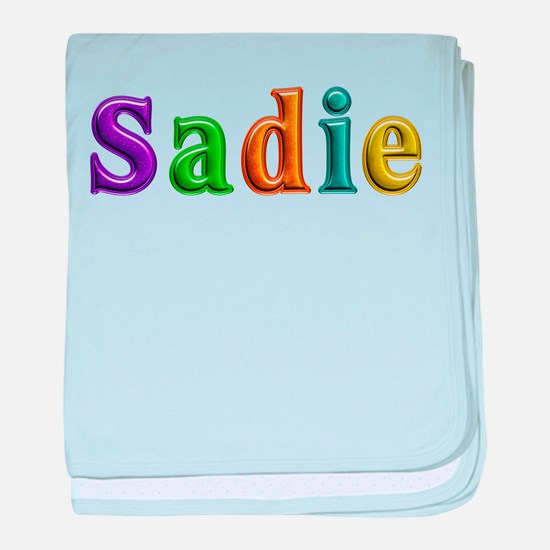 Sadie Shiny Colors baby blanket