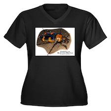 American Burying Beetle Women's Plus Size V-Neck D