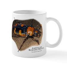 American Burying Beetle Small Mug