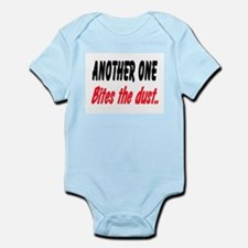BITES THE DUST Infant Bodysuit