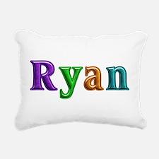 Ryan Shiny Colors Rectangular Canvas Pillow