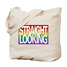 """Straight-Looking"" Tote Bag"