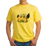 Buff Columbian d'Uccles Yellow T-Shirt