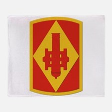 SSI - 75th Fires Brigade Throw Blanket