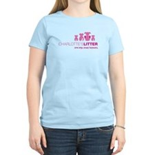 Newtown Kindness Logo White / Pink T-Shirt