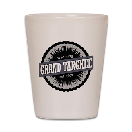Grand Targhee Ski Resort Wyoming Black Shot Glass