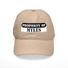 Property of Myles Baseball Cap