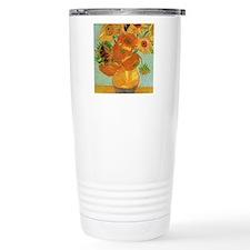 Still life - Vase with twelve Sunflowers Travel Mu