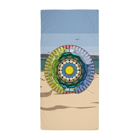 Summer Sunshine Beach Towel