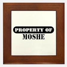 Property of Moshe Framed Tile