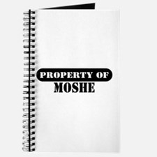 Property of Moshe Journal