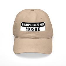 Property of Moshe Baseball Cap