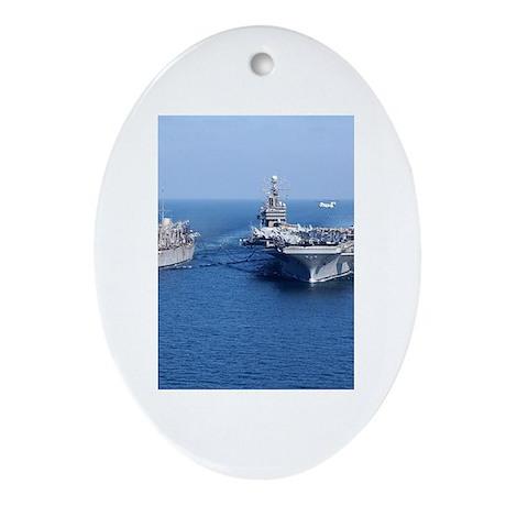 CVN-71 Oval Ornament