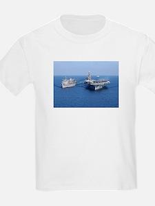 CVN-71 Kids T-Shirt