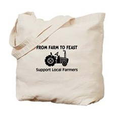 Support Farmers From Farm To Feast Tote Bag