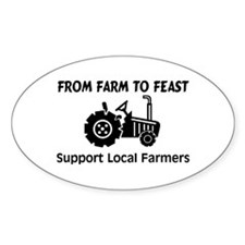 Support Farmers From Farm To Feast Decal