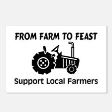 Support Farmers From Farm To Feast Postcards (Pack
