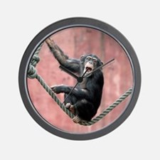 Chimpanzee001 Wall Clock
