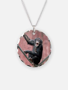 Chimpanzee001 Necklace