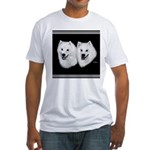 American Eskimo Fitted T-Shirt
